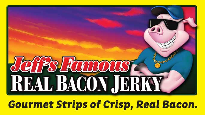 Real Bacon Jerky New Product Release