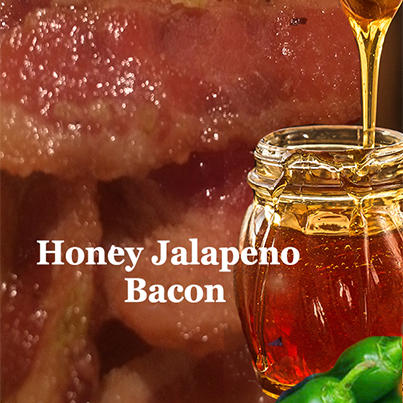 Jalapeno bacon ...Honey Jalapeno bacon jerky