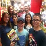 Happy customers at Jeff's Famous Jerky in Big Bear Lake, California!