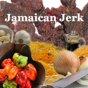 Jamaican Jerk healthy beef jerky