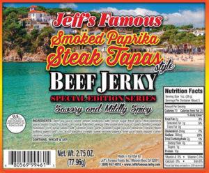 Smoked Paprika Steak Tapas