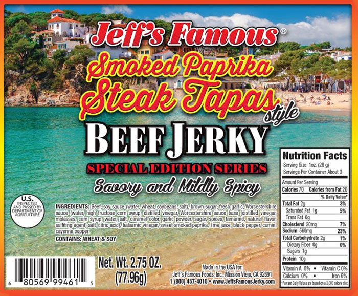 low sodium beef jerky