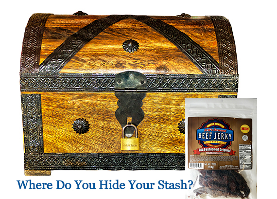 Where do you hide your stash?