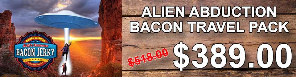Bacon Jerky Gift Basket