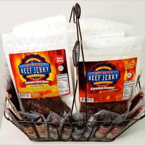 Beef Jerky Gift, Hot