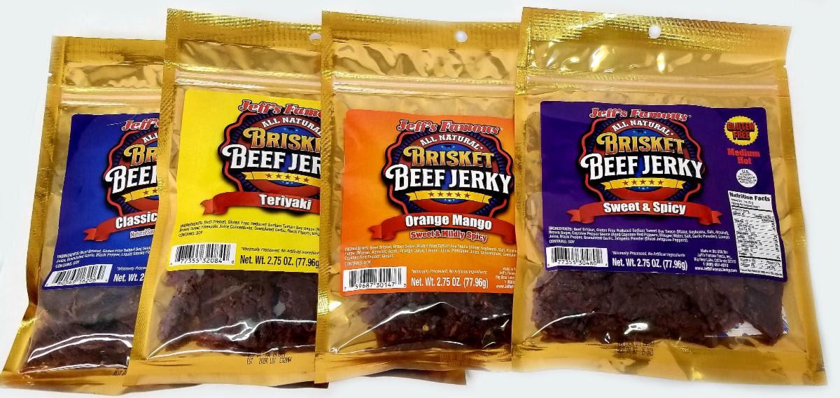 Gluten Free Beef Jerky