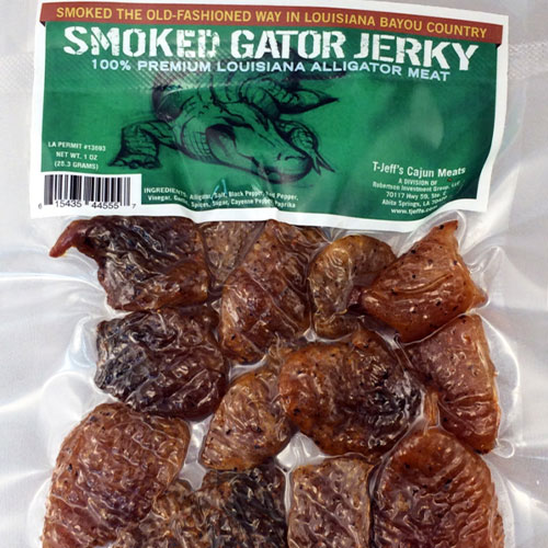 alligator jerky